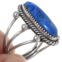 Lapis Lazuli Silver Pointer Ring 38052