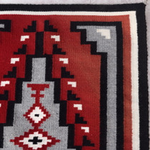 Authentic Navajo Wool Rug 38060
