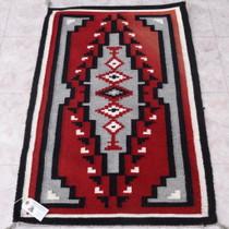 Vintage Navajo Ganado Wool Rug 38060