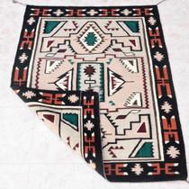 Vintage Navajo Rug Teec Nos Pos Design 38064