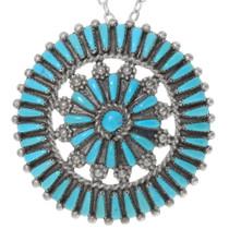 Sleeping Beauty Turquoise Pendant 38079