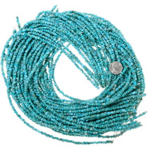 Small 3-4mm Round Nugget Turquoise Beads 35592