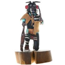 Vintage Left Handed Kachina Doll 39101