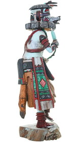 Bear Kachina Hand Carved Michael Tallas Signed 39106