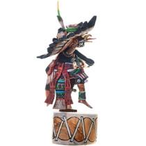 Eagle Kachina on Drum Original Hopi Artwork 39107