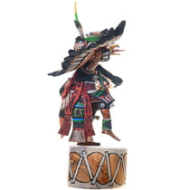 Eagle Kachina on Drum Original Hopi Artwork 39107