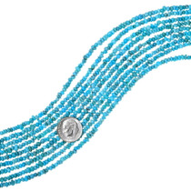 Real Turquoise Nugget Beads 35593
