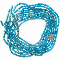 Carved Turquoise Beads 35595