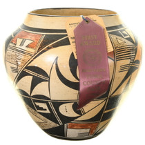 Award Winning 1965 Hopi Olla Pottery 39110