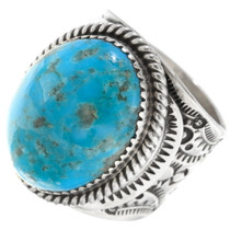 Sterling Silver Kingman Turquoise Ring 39117