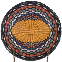 Third Mesa Hopi Wicker Tray Basket 39127
