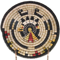 Hopi Kachina Deer Basket Tray 39128