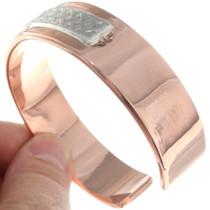 Copper Silver Navajo Cuff 39130