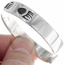 Navajo Bear Paw Bracelet 39131