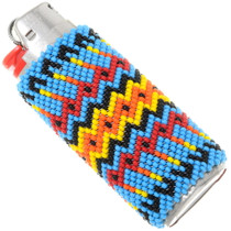 Navajo Hand Beaded Lighter Case Cover 39135