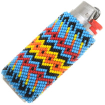 Beaded Navajo Pattern Bic Lighter Case 39135
