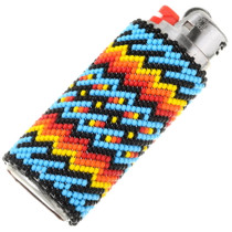 Native American Handmade Beaded Lighter Case 39136
