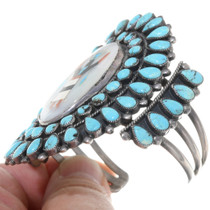 Apache Crown Dancer Turquoise Cuff 39139