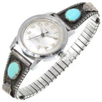 Vintage Turquoise Ladies Watch Tips 39142