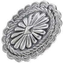 Navajo Sterling Silver Concho Ring 39146