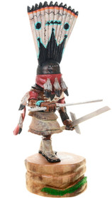 Apache Crown Dancer Native American Kachina Carving 39154
