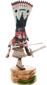 Apache Crown Dancer Native American Kachina Carving 39154