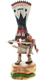 Apache Crown Dancer Kachina Doll 39154