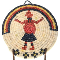 Authentic Native American Basket Kachina Design 39157