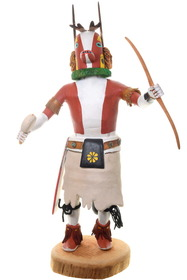 Vintage Hopi Badger Kachina Doll 39161