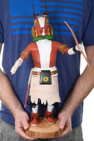 Hand Carved Large Kachina Artwork 39161