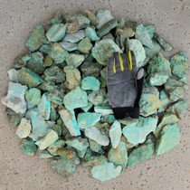 Turquoise Rough Large Specimen 3 inch to 6 inch Cabbing 37001