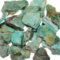 Large Turquoise Rough Nuggets 37001