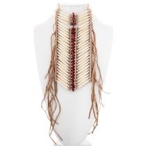 Plains Indian Long Bone Choker 39178