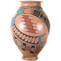 Traditional Paquimé Pattern Hand Painted Mata Ortiz Pottery