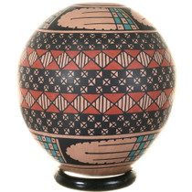 Hand Painted Seed Pot Casas Grandes Region 39189