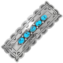 Navajo Turquoise Hair Barrette 39201