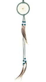 Leather Wrapped Navajo Dreamcatcher 39205