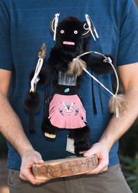 Hand Made Navajo Kachina Doll 39206