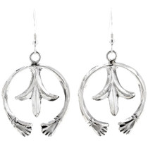 Sterling Silver Navajo Naja Earrings 39208
