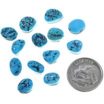 Kingman Turquoise Nugget Cabochons 33434