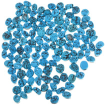 8mm x 10mm Oval Freeform Turquoise Cabochons 33434