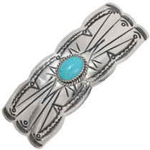 Ladies Turquoise Hair Barrette 39216