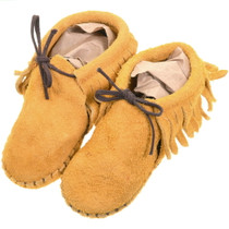 Vintage Taos Indian Childrens Moccasins 39223