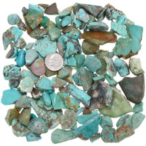 Estate Sale Turquoise Nuggets 37024