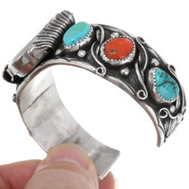 Native American Turquoise Watch Bracelet 39237