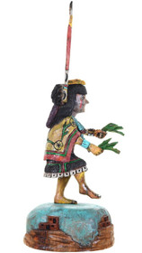 Hand Carved Cottonwood Butterfly Kachina 32938