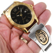 Eagle Symbol Native American Watch 39243