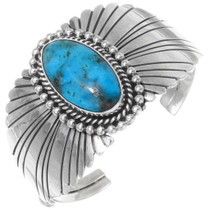 Sterling Silver Turquoise Bracelet 23910