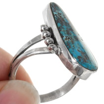 Sterling Silver Turquoise Pointer Ring 39248