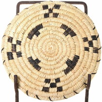 Authentic Native American Hand Woven Yucca Basket 39262